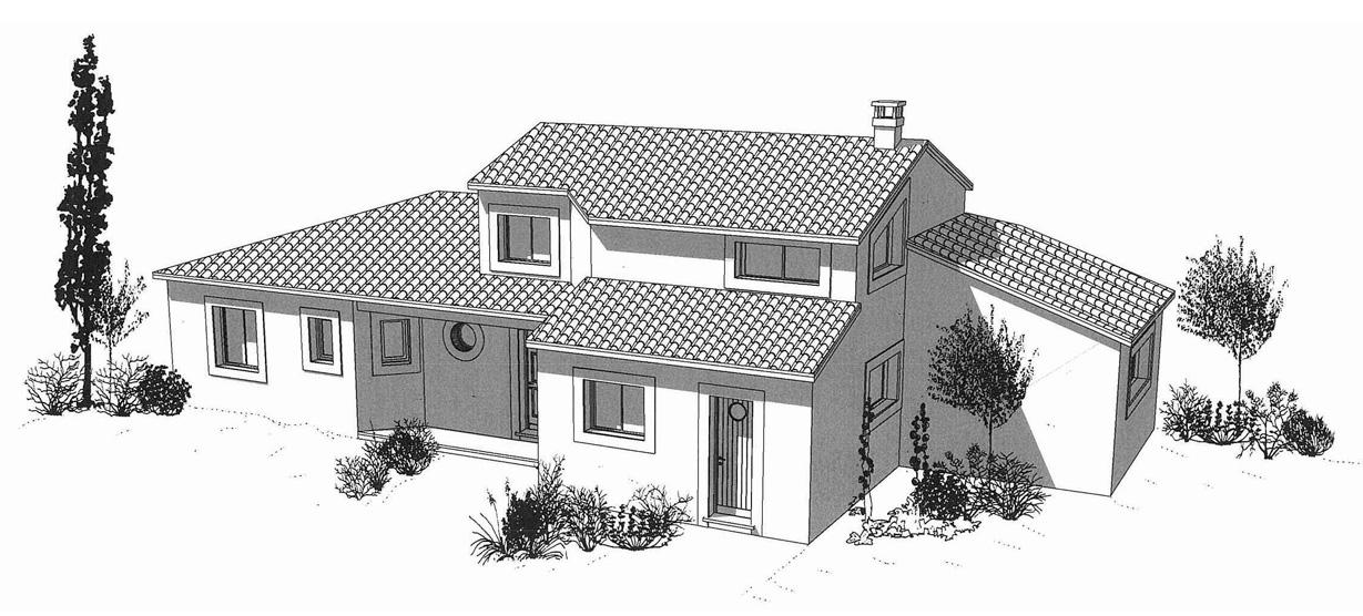 Cr ations de maisons sur mesure rouqui constructions for Cree des maison