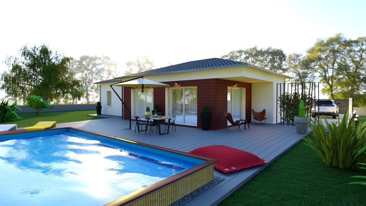 Modèle de maison individuelle LEONARD