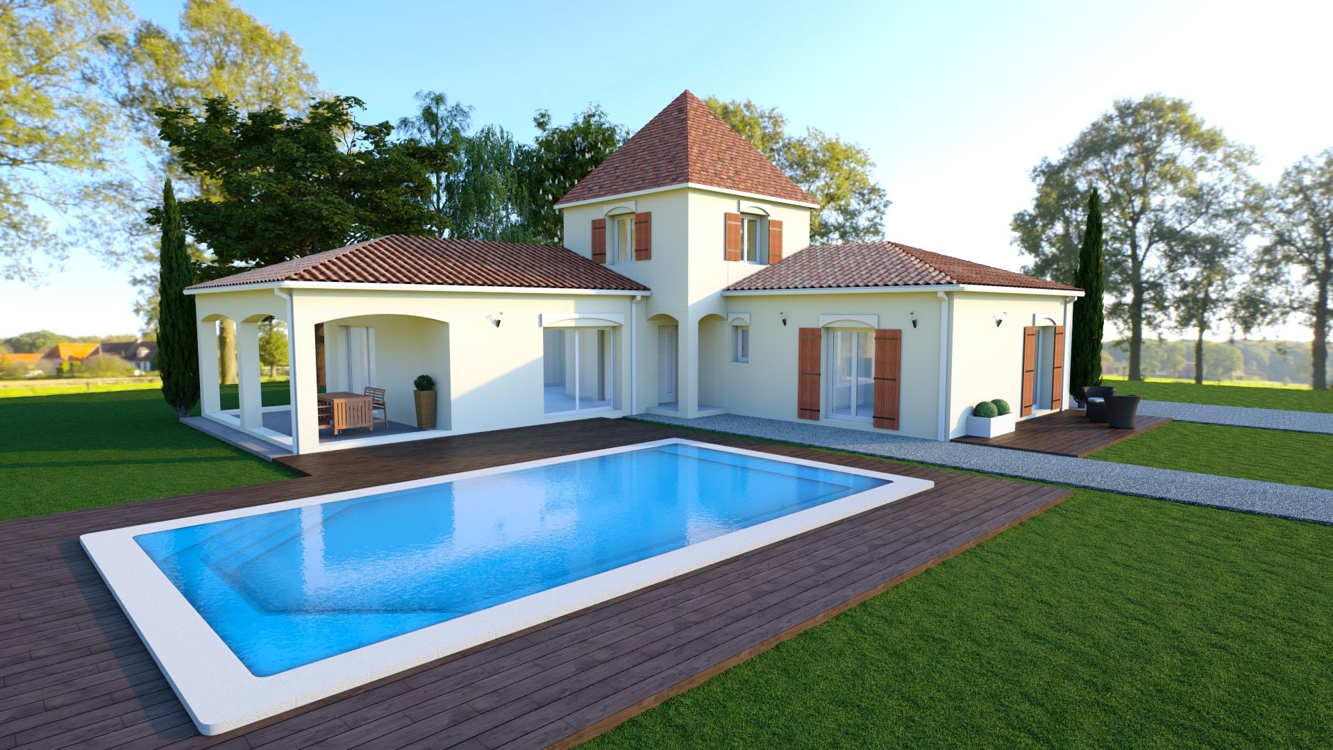 modèle de maison SANDRO
