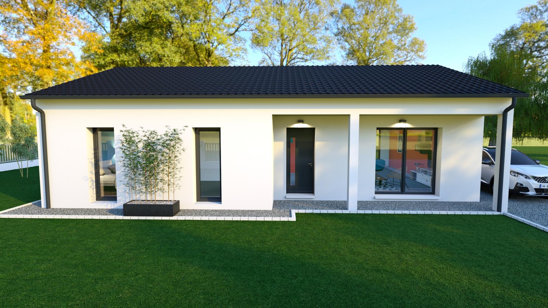Modèle de maison individuelle JACKSON