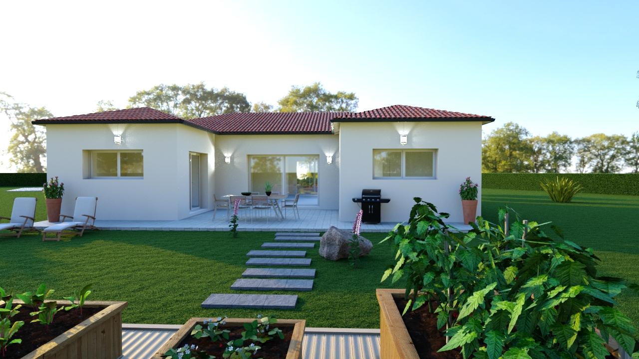 modèle de maison contemporaine CAMILLE