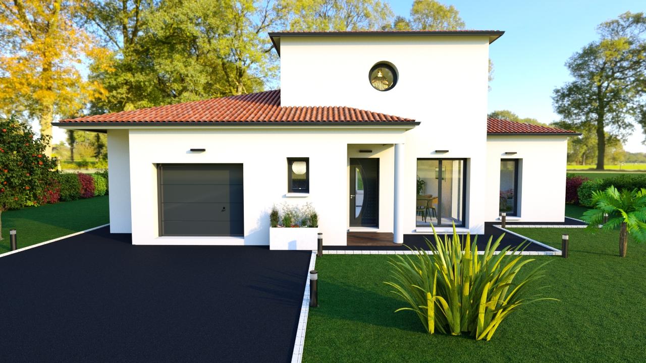 Modèle de maison sur-mesure SALVADOR