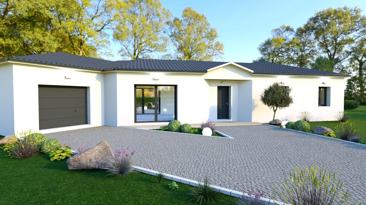 Modèle de maison moderne PAUL