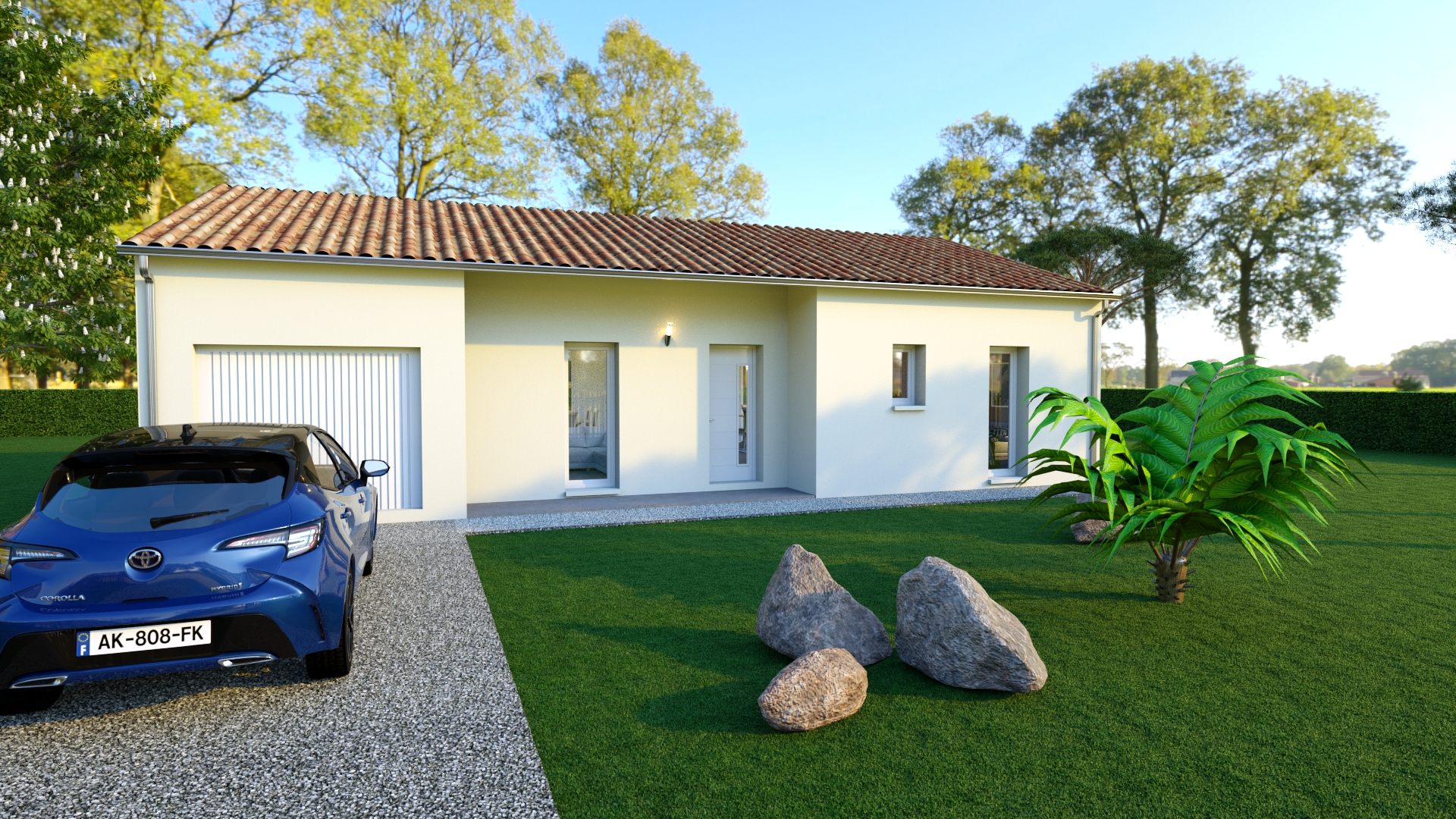 Modèle de maison individuelle URSULA