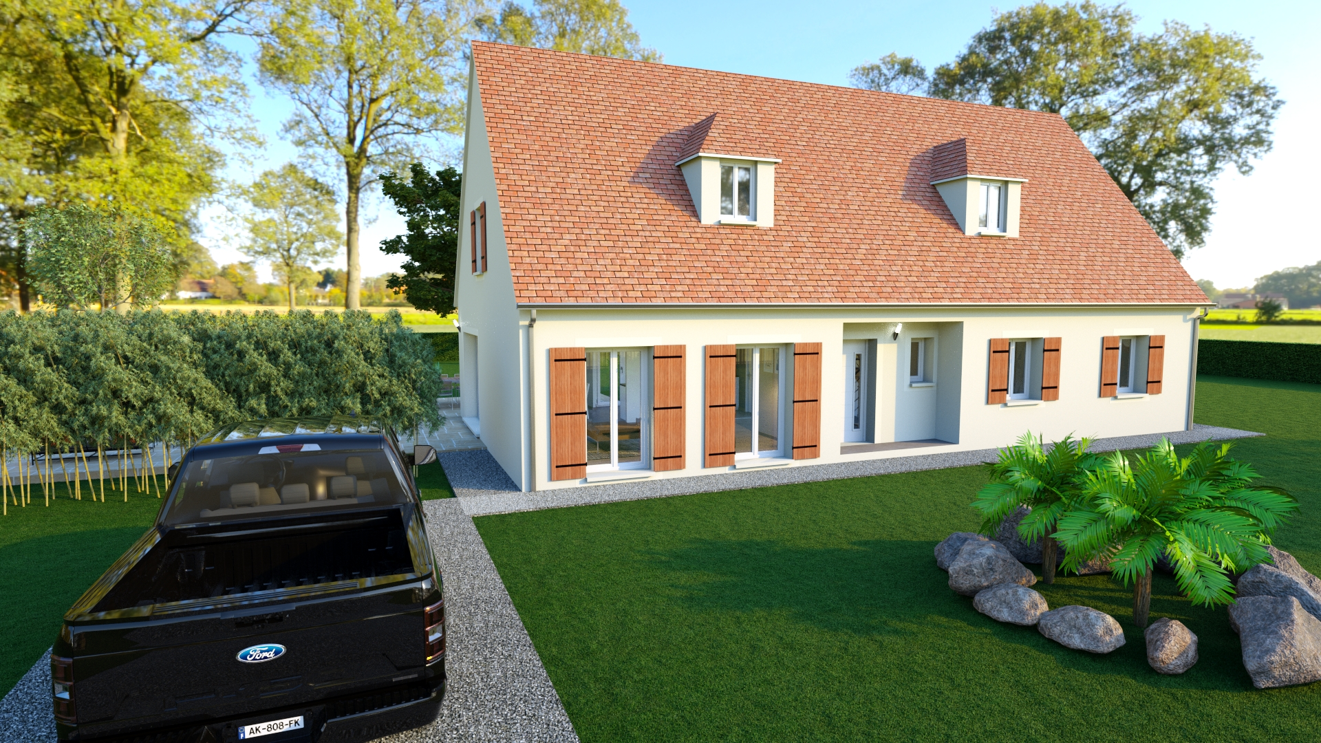 Modèle de maison WILLIAM