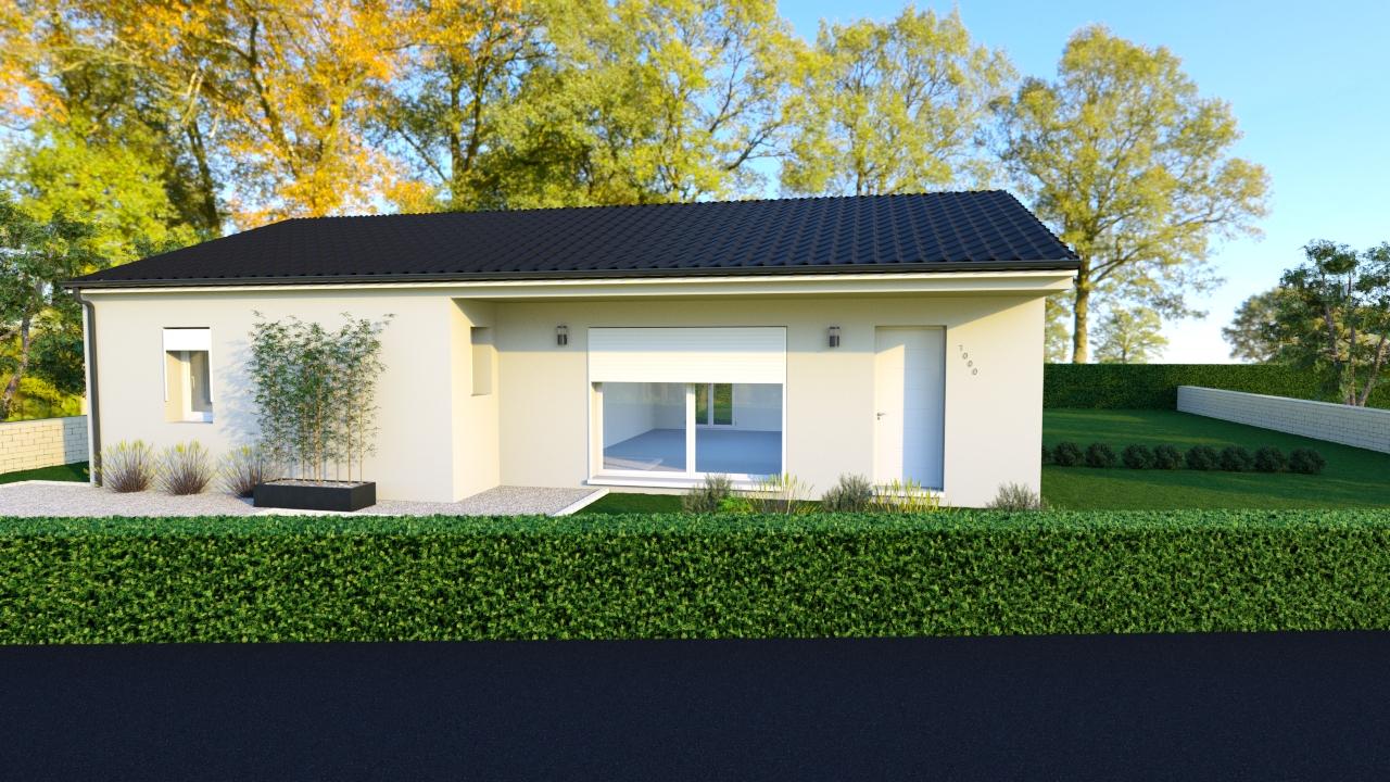 Modèle de maison individuelle LEON