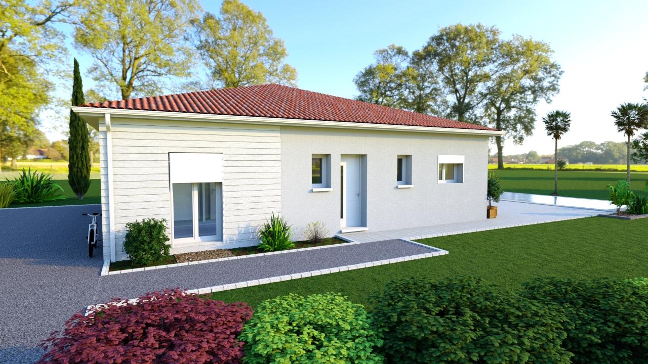 Modèle de maison individuelle FRIDA